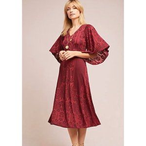 Akemi + Kin Isolde Bell Sleeve Dress